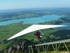 Blick auf den See vom Tegelberg aus: Der Tegelberg mit einer Höhe von 1.700 Meter bietet einen herrlichen Blick auf die Seelandschaft rund um Füssen und Schwangau
